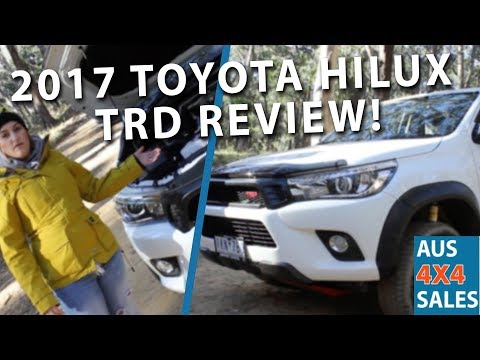 Aus 4x4 Sales - Week 003 - 2017 TOYOTA HILUX TRD REVIEW