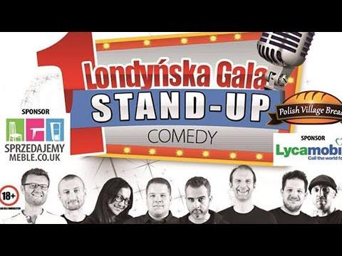 Gala Stand-up Comedy W Londynie