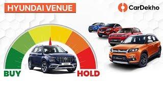Hyundai Venue 2019 India vs XUV300: Should You Wait Or Buy Brezza, Nexon, EcoSport?| #BuyOrHold