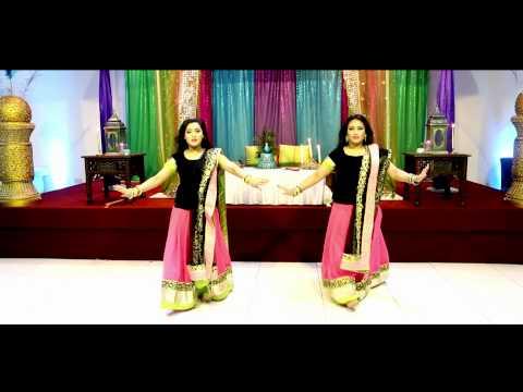 Aidhan Films - Amazing Mehndi Dance Performance - Bride Entrance...