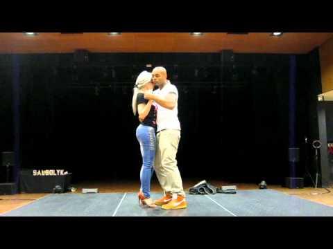 Kizomba - Albir & Sara, Rennes (France), 23 Juin 2012
