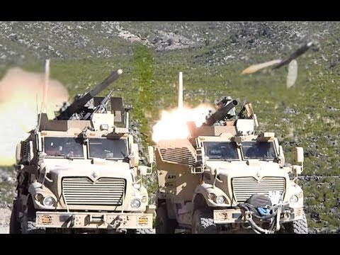 DOUBLE BARREL TOW MISSILE HEADED FOR INSURGENTS - NO SLACK