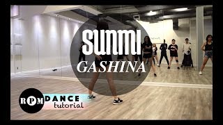 "download lagu Sunmi ""gashina"" Dance Tutorial Prechorus, Chorus gratis"