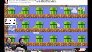 Twitch Streamers Play My New Troll Mario Maker Level