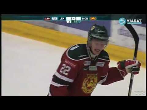 Mora IK's Henrik Eriksson Gets Clocked For Hugging Opponent After Goal (video)