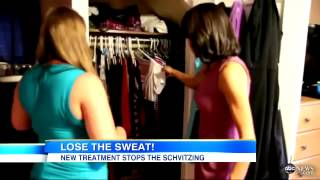 Medical Breakthrough  A Cure For Sweating