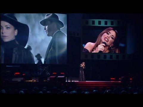 Ани Лорак на концерте ко Дню сотрудника ОВД