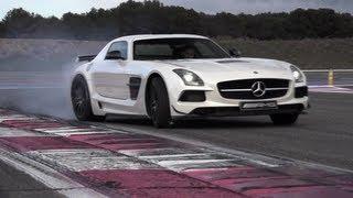 Mercedes SLS AMG Black Series German Tyre Killer  CHRIS HARRIS ON CARS