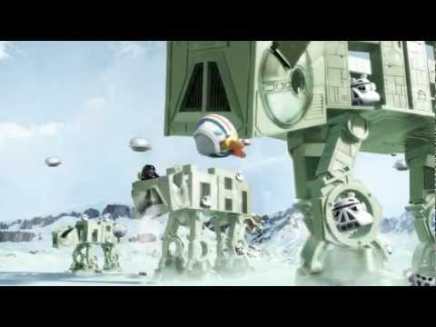 Official Commercial: Angry Birds Star Wars AT-AT Attack Battle Game