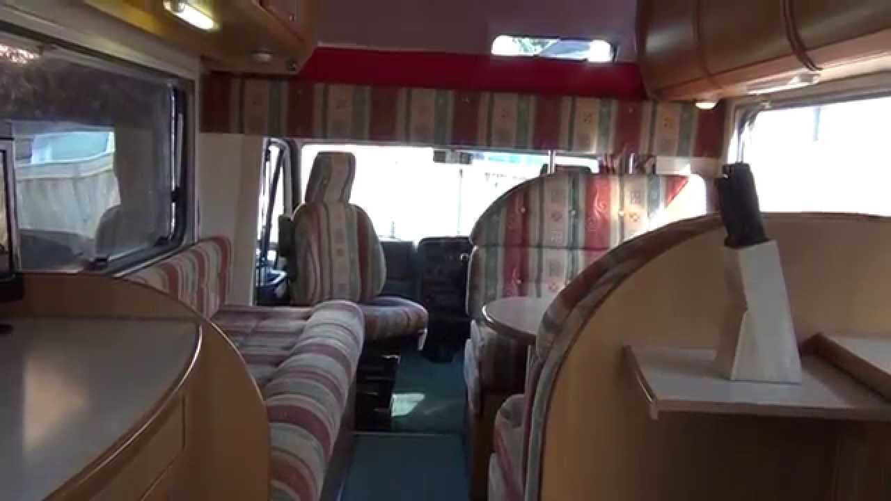 Fiat Ci 171 Riviera 6 Berth Motorhome Youtube