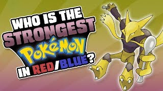WHO IS THE STRONGEST POKEMON IN GEN 1 (Red and Blue)? (feat. MysticUmbreon)