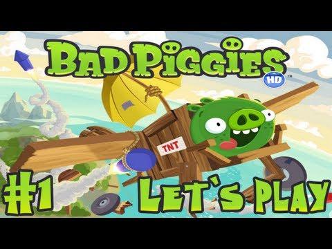 Let`s Play Bad Piggies #1