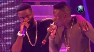 Stonebwoy 'murder' Sarkodie in freestyle at Tigo Ghana meet Naija 2015