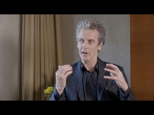 Peter Capaldi talks time, space and Lego Dimensions with CNET