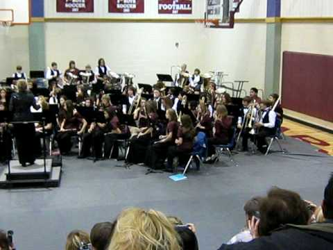 Dozier Middle School. Hudson Middle School Bands