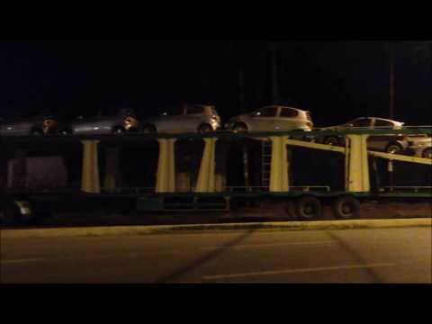 Unloading Cars Addis Ababa