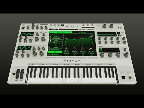 Sektor Wavetable Synthesizer - Introduction