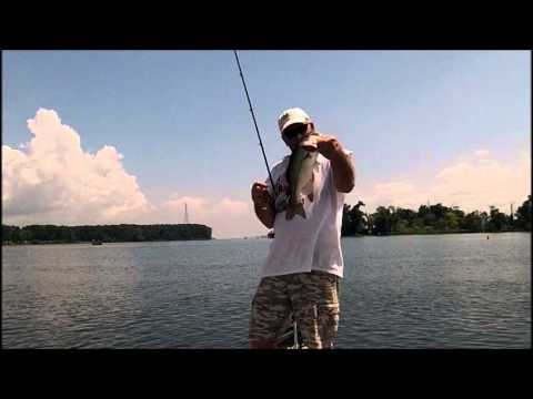 fishing LAKE GUNTERSVILLE summer 2013