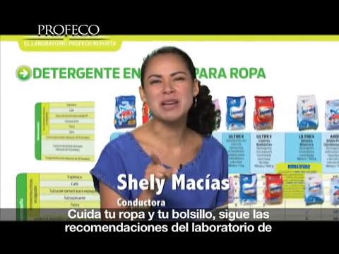 Estudio de Calidad de Detergentes en polvo [Revista del Consumidor TV 14.1]