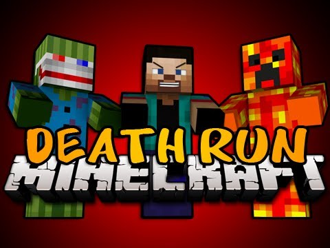 BRAND NEW Minecraft: DEATH RUN MINIGAME! w/Bashur, Preston, and Jordan!