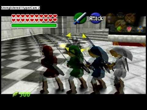 4 sword vs dark link ootavi youtube