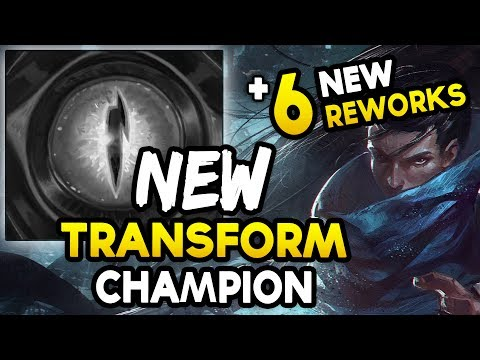NEW TRANSFORMING CHAMPION TEASER + 6 NEW REWORKS? (League of Legends)