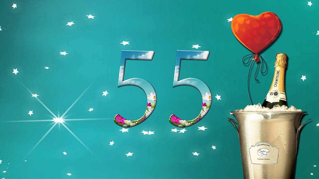 Поздравление юбилей 55 лет папе