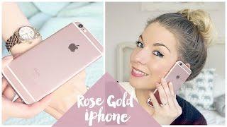 Rose Gold Iphone 6s Unboxing | Dollybowbow