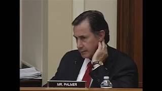 Rep. Palmer Q&A on Examining the Overhead Cost of Research