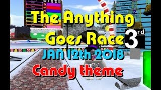 anything goes Race 2018 01 12 Candy