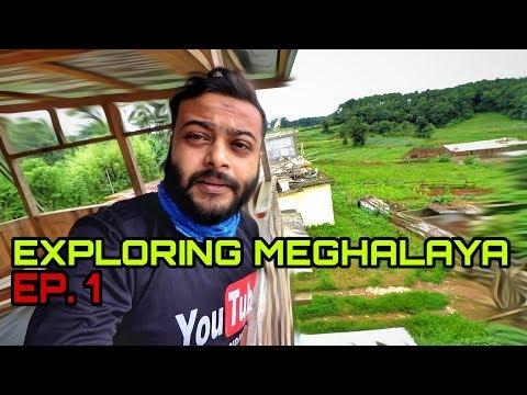 Exploring Meghalaya | Guwahati to Upper Shillong | Night Ride | Episode 1