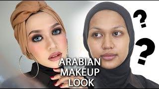 ARABIAN MAKEUP LOOK  INDAH NURITA SARI  BAHASA