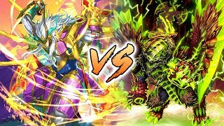 Katana World (Garga) Vs. Ancient World (Agito) | Future Card Buddyfight