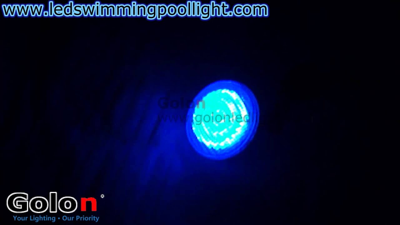 Color Changing Model Rgb 24w Par56 Led Pool Light With