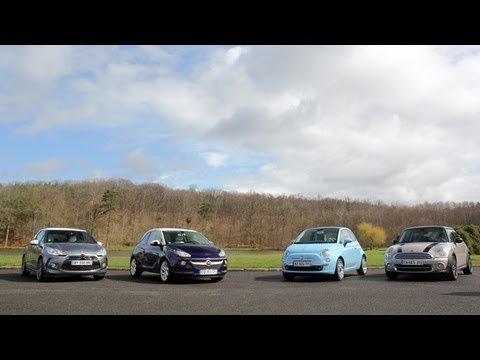 Comparatif : Opel Adam, Citroën DS3, Mini, Fiat 500 : les re