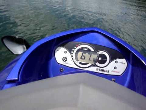 Yamaha Vx Sport >> Top Speed Yamaha VX 110 Deluxe - YouTube
