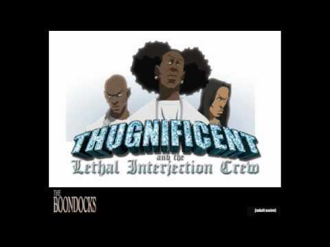NEW THUGNIFICENT - NIGGA NIGGA NIGGA (Boondocks Season 3)