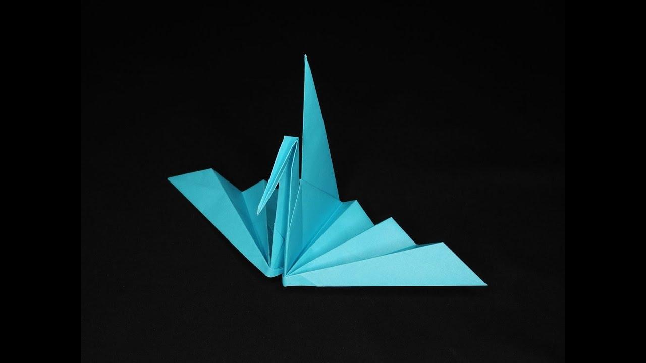 すべての折り紙 鶴の折り紙 : 折り紙シアター『折り羽鶴 ...