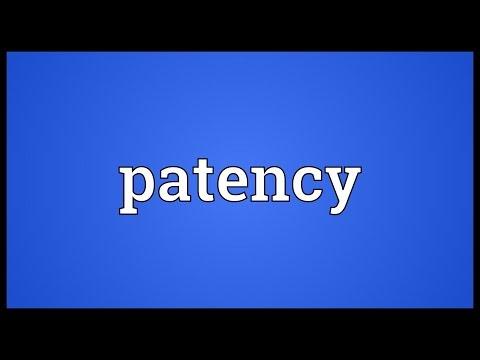 Header of patency