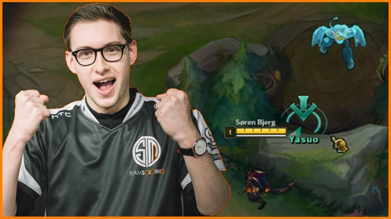 Bjergsen's Best Leash for his Jungler in NA | Maxlore's Crazy Rammus Drift - Best of LoL Streams#266