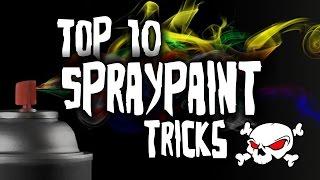 Top 10 Spray Paint Tricks HD