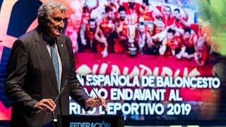 Premio Endavant al Mérito Deportivo a la Federación Española de Baloncesto