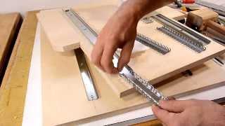 Pantorouter XL build: Linear glides