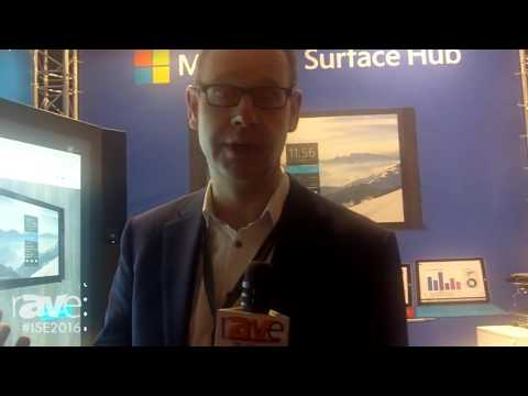 ISE 2016: Misco and iMotions Present Team Up Room Based Around Microsoft Surface Hub