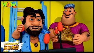 Motu Patlu Aur Shaitani Putla  - Motu Patlu in Hindi - 3D Animation Cartoon - As on Nickelodeon