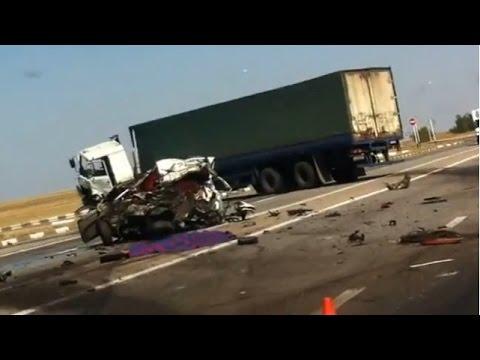 Truck Crash Compilation August 2014 part 2
