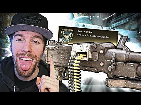 "UNLOCKING ""GPMG"" DLC WEAPON! (Call of Duty WW2 Multiplayer Gameplay)"