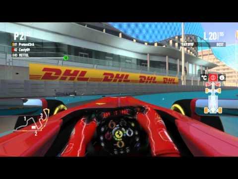 F1 2011 CO OP Season 2 Race 18 Abu Dhabi 100% Race