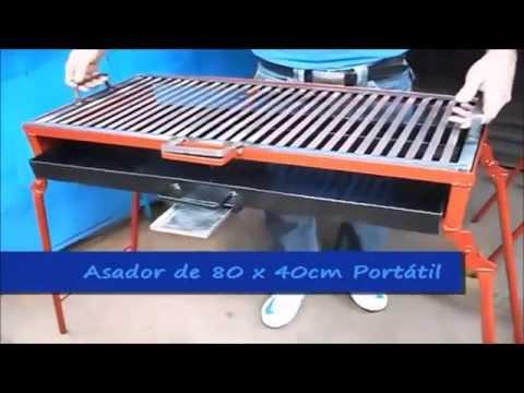 Asador Portatil -  Grupo Halley