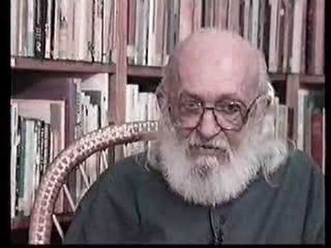 Ultima Entrevista a Paulo Freire 1 parte